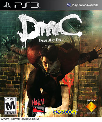 DmC PS3 Cover دانلود بازی DmC Devil May Cry برای PS3