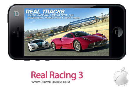 real racing 3 بازی اتومبیلرانی محبوب Real Racing 3 1.0.2    آیفون و آیپد