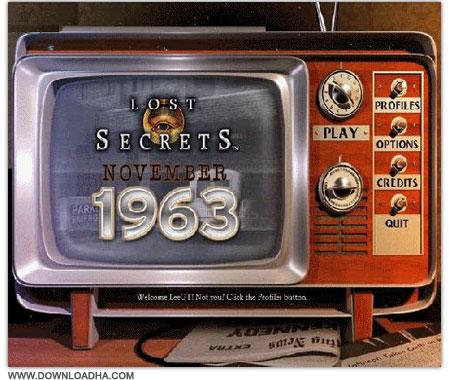 1963 دانلود بازی کارآگاهی Lost Secrets 4: November 1963 برای PC