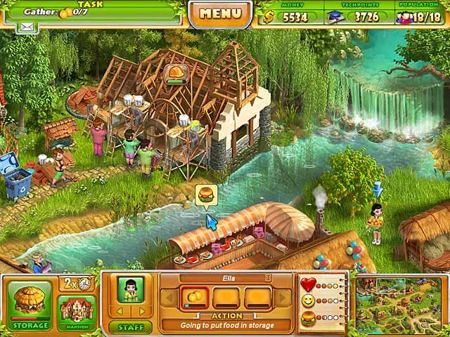 Farm 2 دانلود بازی Farm Tribe 2 برای PC