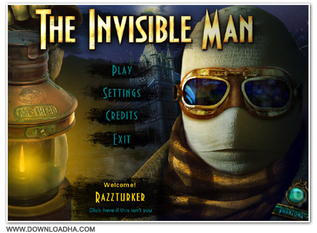 Invisible Cover دانلود بازی The Invisible Man برای PC