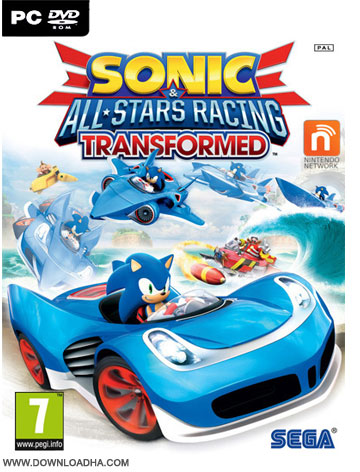 Sonic and All Stars Racing Transformed دانلود بازی Sonic and All Stars Racing Transformed برای PC